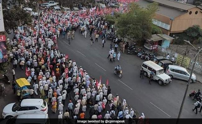 To Protest 'Betrayal', 50,000 Maharashtra Farmers March To Mumbai Again