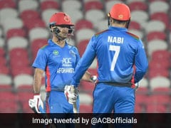 1st T20I: Mohammad Nabi, Najibullah Zadran Power Afghanistan To Five-Wicket Win Against Ireland