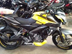 Bajaj Pulsar NS200 To Get New Yellow Colour Scheme Once Again