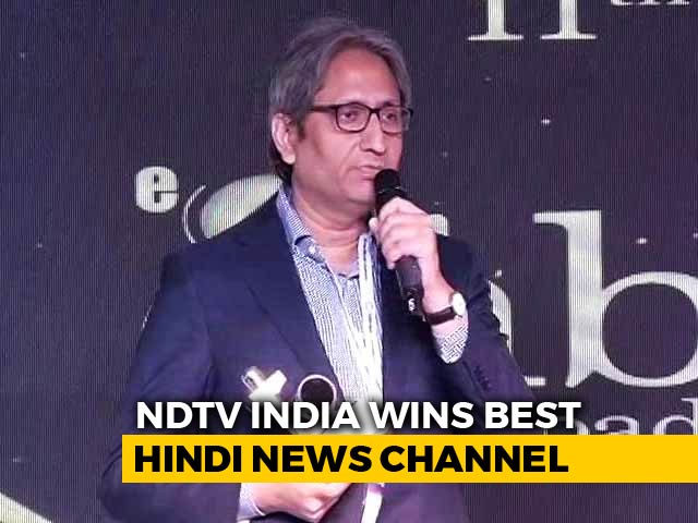 "Video : NDTV And Its Journalism Stands Apart From ""The <i>Bheed</i>"":  Ravish Kumar's Speech"