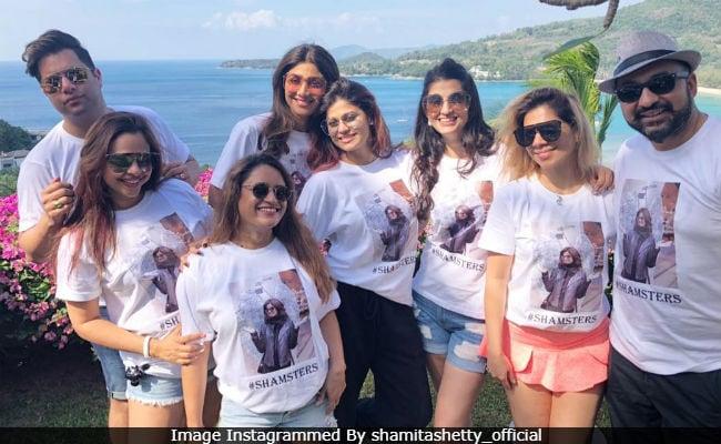 How Shilpa Shetty And Raj Kundra Are Celebrating Shamita's Birthday In Phuket