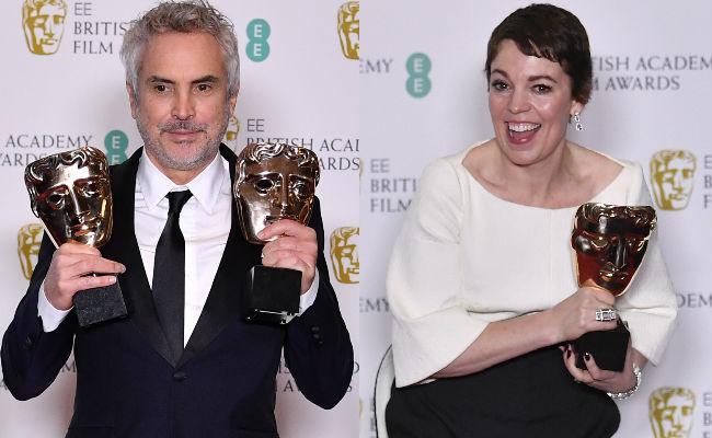 Bafta Winners 2019: BAFTA 2019 Winner List: The Favourite Wins Most, Roma Wins