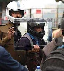 Why This Delhi Traffic Cop Shows Riders Who Break Rules A Mirror