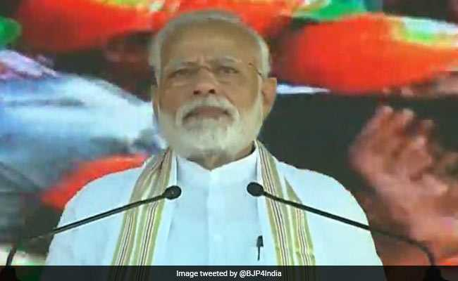 PM Modi Flags Off Several Development Projects In Tamil Nadu