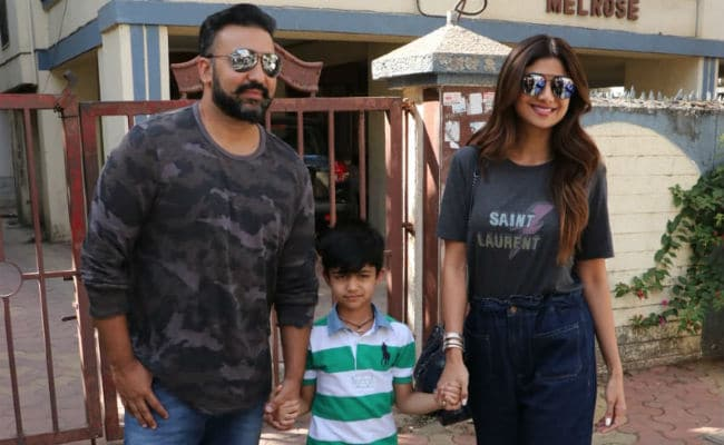 Inside Shilpa Shetty's Lunch Date With Viaan And Raj Kundra. See Pics