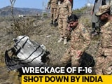 Video : Wreckage Of Downed Pak F-16 Seen In PoK