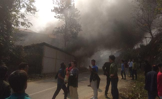 Arunachal Deputy Chief Minister's Home Set On Fire As Protests Escalate