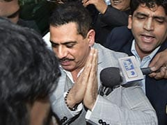 """Not Angry At Probe Agencies, It is Centre's Witch-Hunt"": Robert Vadra"