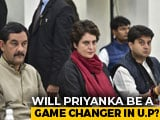 Video: Will Priyanka Gandhi Boost Congress' Chances In UP? Mission Begins Today