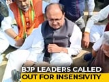 Video : On Video, BJP Leaders Asked To Remove Shoes By Soldier's Angry Relatives