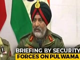 Video : Jaish Leadership In Valley Eliminated In Under 100 Hours Of Pulwama: Army