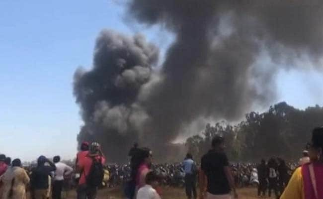 Aero India LIVE Updates: Major Fire At Air Show, Nearly 300 Cars Burnt