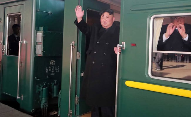 North Korea's Kim Jong Un On 60-Hour Journey In Armoured Train To Vietnam