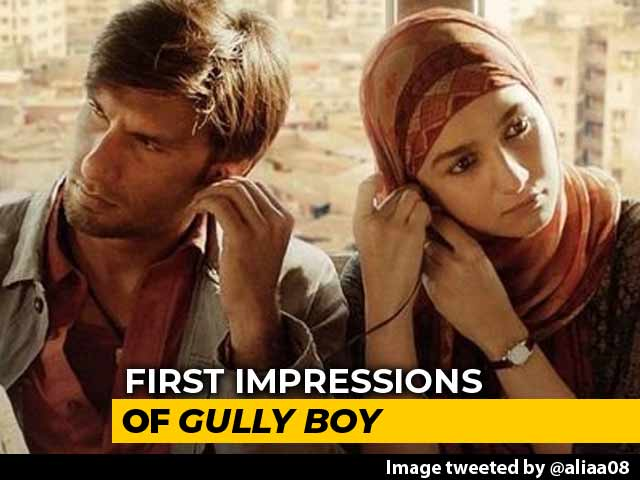 First Impressions of Ranveer Singh, Alia Bhatt's Gully Boy