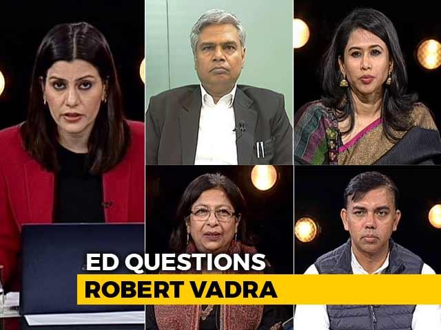 Video : Priyanka Gandhi Stands By Husband Robert Vadra: Political Gamble?