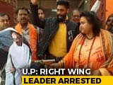 Video: Right-Wing Leader Who Shot At Mahatma Gandhi's Effigy In UP Arrested