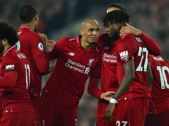 Premier League: Liverpool Run Riot As Manchester City Stay In Touch With Narrow Win