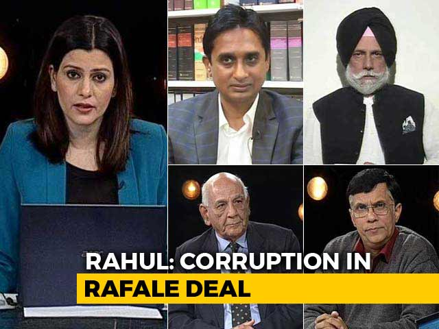 Video : Rahul Gandhi Rakes Up Fresh Controversy In Rafale Deal