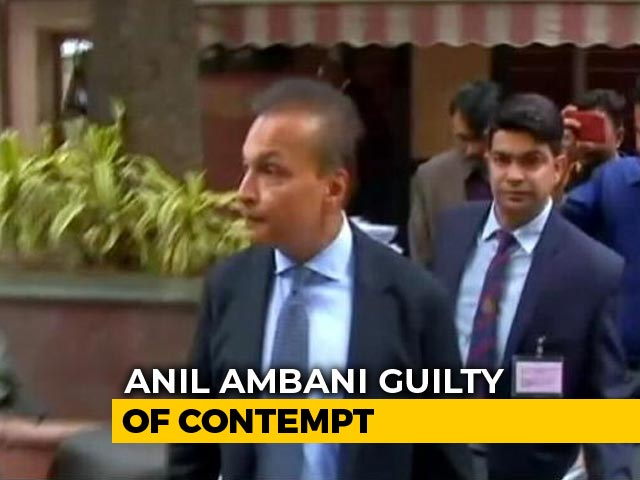 Video : Top Court Asks Anil Ambani To Pay Or Face Jail In Ericsson Case