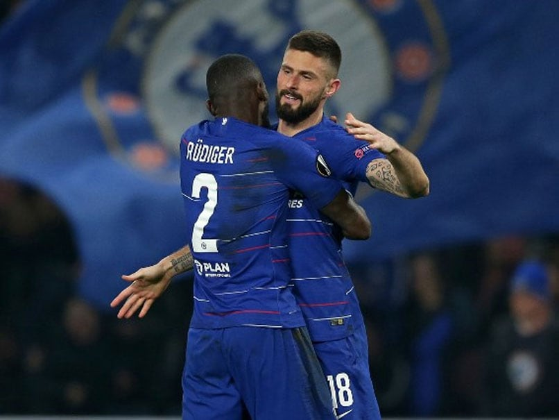 Arsenal, Chelsea Cruise Into Europa League Last 16
