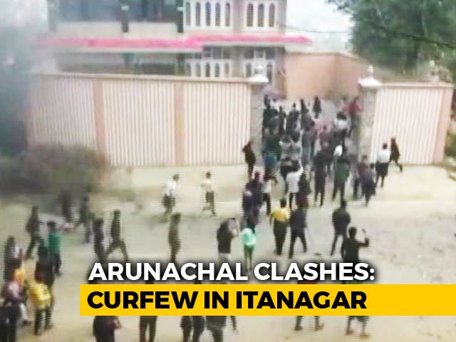Video : Arunachal Deputy Chief Minister's Home Set On Fire As Protests Escalate