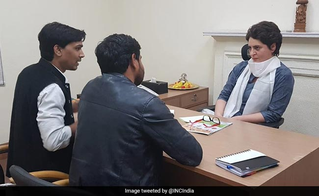 'A New Light': Congress Workers Cheer As Priyanka Gandhi Takes Charge