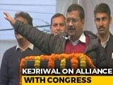 "Video : ""They've Nearly Said No"": Arvind Kejriwal On Alliance With Congress"
