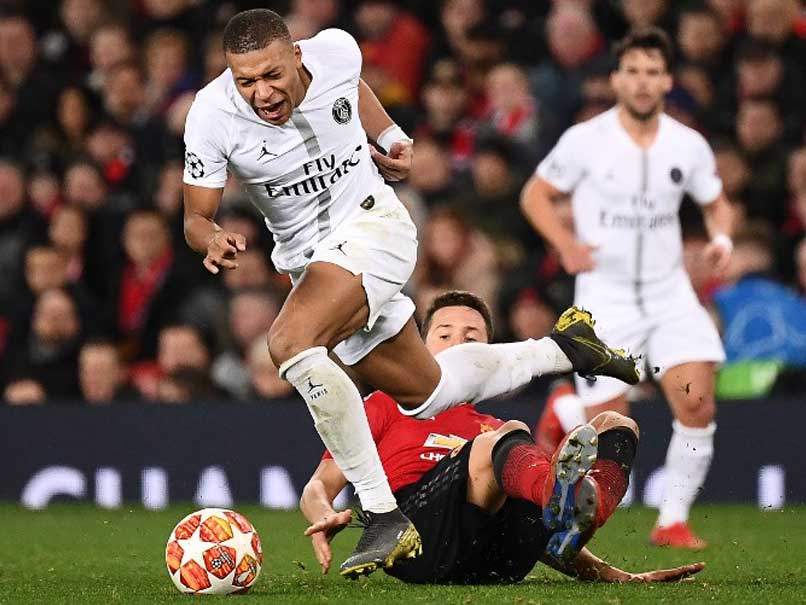 CL: Kylian Mbappe Stars As PSG Hand Manchester United A Reality Check