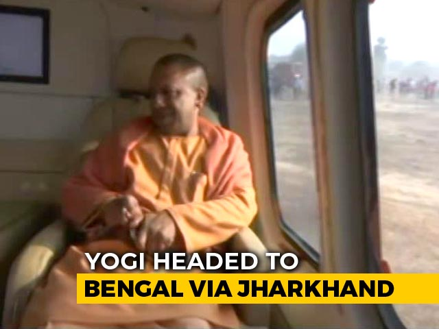 Video : Crowds Wait, Yogi Adityanath On Way, But Question Mark On Bengal Rally