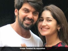 On Valentine's Day, Actors Sayyeshaa Saigal And Arya Confirm Their March Wedding
