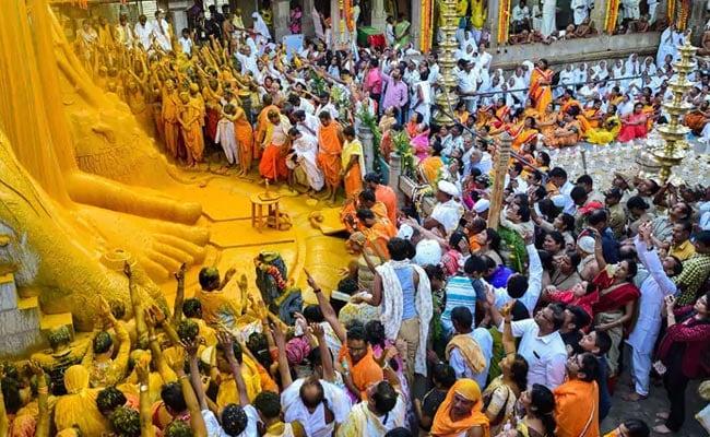 Bahubali Mahamastakabhisheka Mahotsav: Everything You Need To Know About The Jain Bathing Ritual