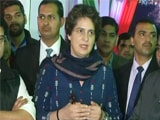 Video : Priyanka Gandhi Breaks Silence As Congress Allies With UP Regional Leader