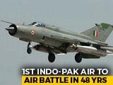 """Video : India Confirms Air Force Pilot In Pak Custody, Protests """"Vulgar Display"""""""