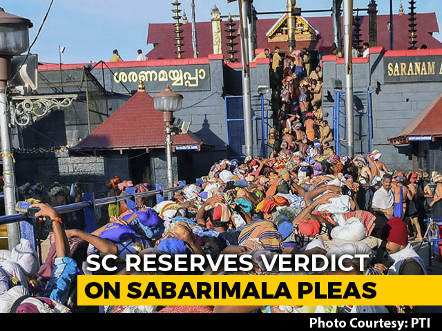 "Video : ""Will Respect Sabarimala Verdict"": Temple Board's U-Turn In Supreme Court"