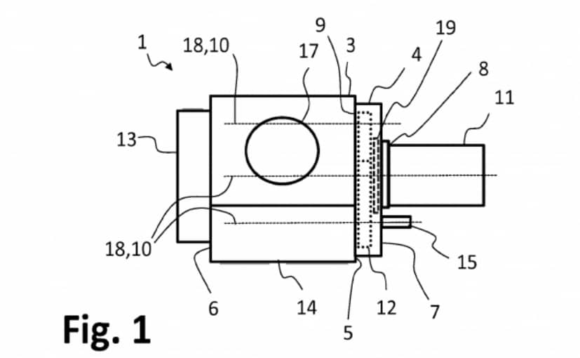 bmw motorrad may be working on hybrid boxer engine ndtv carandbikethe patent image shows an internal combustion engine with an adapter for the electric motor