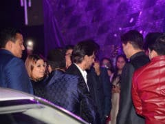 Shah Rukh Khan, Bobby Deol, Raveena Tandon And Others Attend Azhar Morani's <I>Sangeet</I> Ceremony. See Pics
