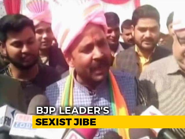 Priyanka Gandhi Vadra Wears Jeans In Delhi, Saree-Sindoor In UP: BJP MP