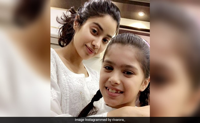 Sridevi's Young MOM Co-Star Riva Arora Is Working With Janhvi Kapoor Now