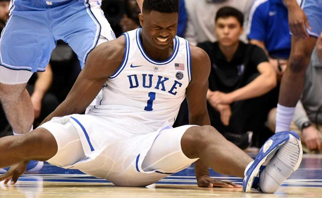Social Media Outrage After Basketball Star's Nike Shoe Splits