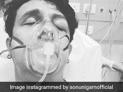 An Allergy Put Sonu Nigam In Hospital. He Posts Pics As Cautionary Tale