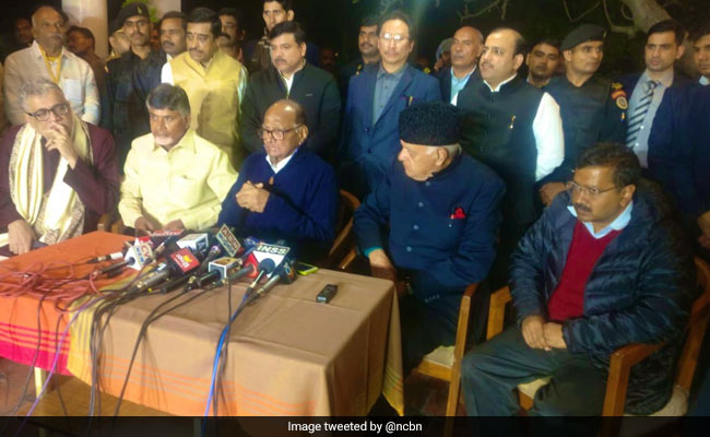 Opposition Leaders Meet At Sharad Pawar's Home, Condemn 'Misuse' Of CBI