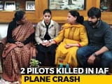 Video : Defence Minister Meets Families Of Pilots Killed In Air Force Plane Crash