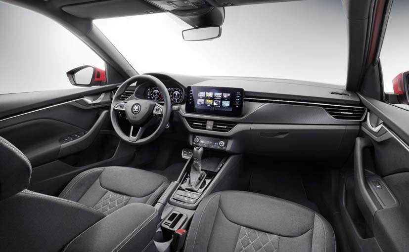 The Kamiq debuts Skoda's new interior concept and the design is completely new.