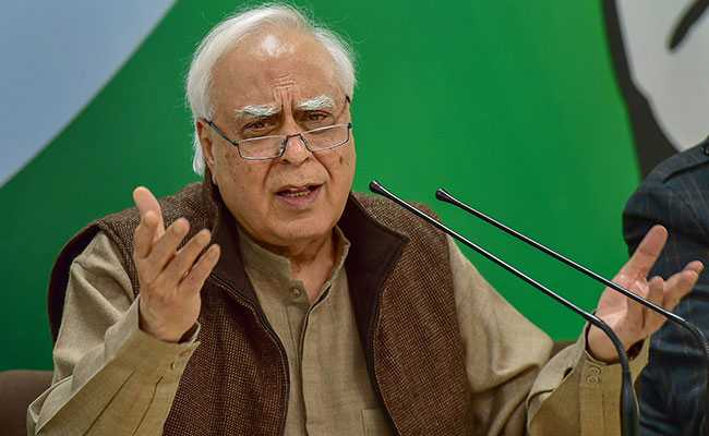 'Unfortunate That India's Statistical Data Not Genuine': Kapil Sibal