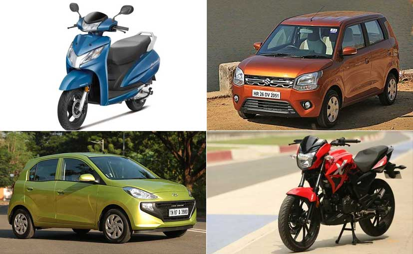 In November 2019, total number of vehicles registered in India was 21,05,508 units