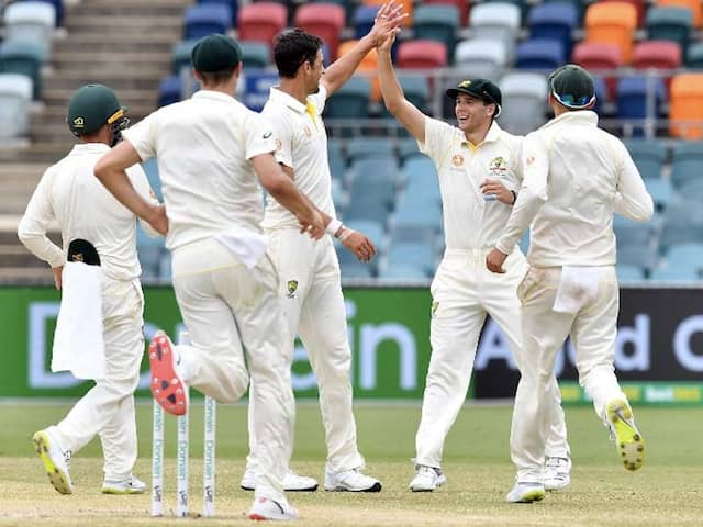 Mitchell Starc On Fire As Australia Thrash Sri Lanka To Win Series