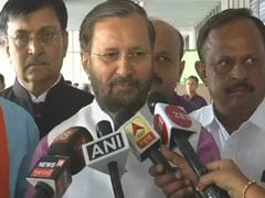"General Elections 2019: ""Congress Acting Like Fringe, Siding With <i>Tukde-Tudke</i> Gang"", Says Prakash Javadekar"