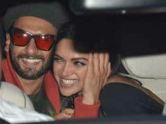 <I>Gully Boy</i> Screening: Every Day Is Valentine's Day For Ranveer Singh-Deepika Padukone; Alia Bhatt-Ranbir Kapoor's Movie Date