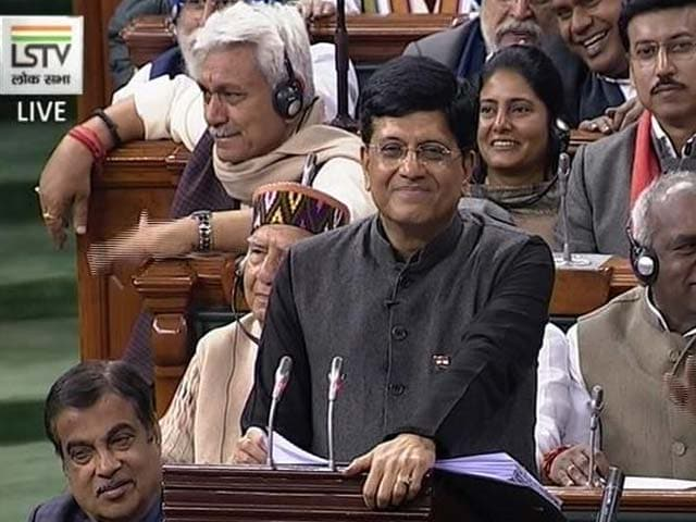 Budget 2019: Finance Minister Piyush Goyal Announces 2% Interest Subvention For MSMEs On Loan Up To Rs 1 Cr