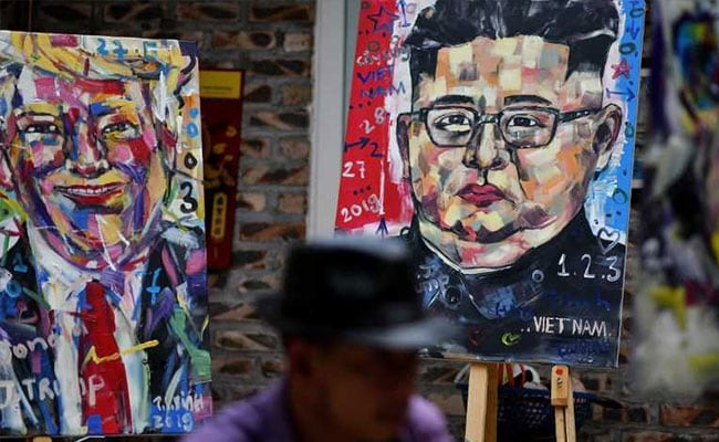 Vietnam Artist Paints Trump, Kim For 'Peace' Ahead Of Summit